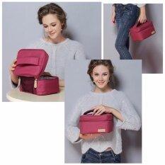 ซื้อ กระเป๋าเก็บอุณหภูมิ กระเป๋าเก็บความเย็น กระเป๋าเก็บความร้อน กระเป๋าเก็บนมแม่ แบบถือ สีแดง ถูก ใน กรุงเทพมหานคร
