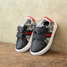 ราคา ผ้าใบเด็กผู้ชายและเด็กผู้หญิงเล็กๆสีขาวรองเท้าเด็กรองเท้าผ้าใบ ถูก