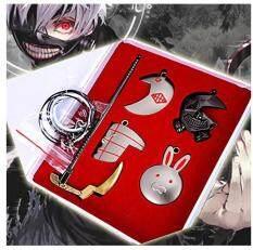 อนิเมะโตเกียวปอบสร้อยคอพวงกุญแจจี้เซตอนิเมะรอบๆของเล่นเครื่องประดับ By Taobao Collection.