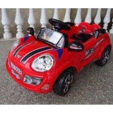 ขาย รถแบตเตอรี่ รถเด็กนั่ง มินิจัสติน สีแดง รถเด็กไฟฟ้า ขับเองได้ บังคับรีโมทได้ Lion ผู้ค้าส่ง