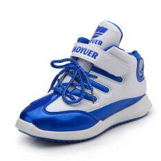 นักเรียนฤดูใบไม้ร่วงและฤดูหนาวใหม่สูงด้านบนรองเท้าวิ่งรองเท้าผ้าใบ ใหม่ล่าสุด
