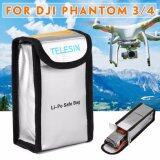 ราคา Protective Safe Lipo Battery Fireproof Fiber Bag Case For Dji Phantom 3 4 ที่สุด