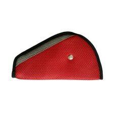 Protex ที่ปรับระดับเข็มขัดนิรภัย Seat Belt Adjuster Pad  (Red)