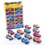 Proudnada Toys ของเล่นเด็กรถกระบะตำรวจ 12 คัน Topshop All New Style No 930 18G เป็นต้นฉบับ