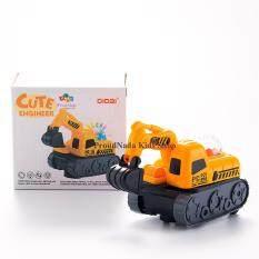 ส่วนลด Proudnada Toys ของเล่นเด็กรถแม็คโครชนถอยมีเสียงมีไฟ Didai Cute Engineer No Ld 134B Proudnada Toys ใน กรุงเทพมหานคร