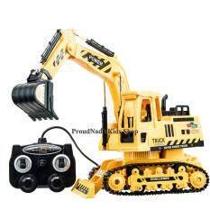 Proudnada Toys ของเล่นเด็กรถแม็คโครบังคับสาย Hengjian Engineering Car Super Power 1 18 No 689 80 ใน Thailand