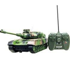 ราคา Proudnada Toys ของเล่นเด็กรถถังบังคับวิทยุ คันใหญ่ Rc Tank Series สีเขียว No Xj13 ที่สุด
