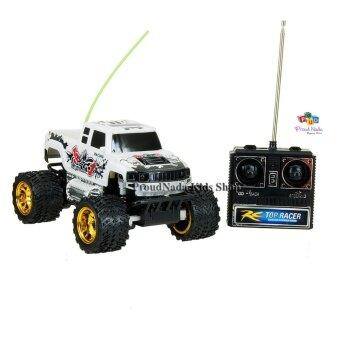 ProudNada Toys ของเล่นเด็กรถบิ๊กฟุตบังคับวิทยุ(สีขาว) Multi functions SUPER POWER NO.0111A