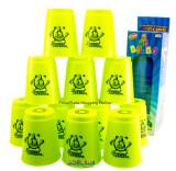 ราคา Proudnada Toys Stack Cup เกมส์เรียงแก้ว สีเขียว Speed Stacks No Bb808 ที่สุด