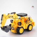 ขาย Proudnada Toys ของเล่นเด็กรถก่อสร้างแม็คโครชนถอย มีเสียง มีไฟ Truck Electric Engineering Toys No 777 52 กรุงเทพมหานคร ถูก