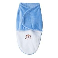 ซื้อ Pure Envelope Infant Swaddle Soft Animal Paint Fleece Blanket จีน
