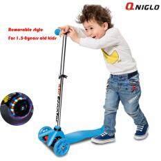 ซื้อ Qniglo Young Style Adjustable Wheel Balance Kick Scooter With Flash Wheels ถูก กรุงเทพมหานคร