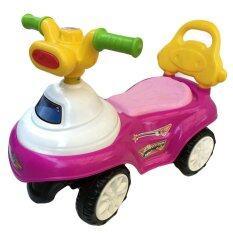 Rctoystoryขาไถ รถเด็ก สีชมพู ใหม่ล่าสุด