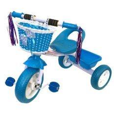 ราคา Rctoystory จักรยาน3 ล้อ ปั่่น มีตะกร้า สีฟ้า ถูก