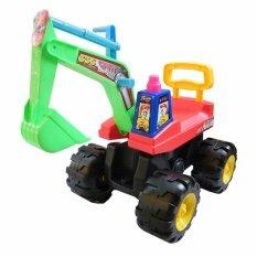 ราคา Rctoystory ขาไถ รถเด็ก รถตัก แม็คโคร เขียว แดง สีเหลือง Rctoystory เป็นต้นฉบับ