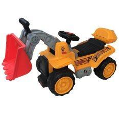 Rctoystory รถเด็กนั่ง รถแบตเตอรี่ รถไฟฟ้า ขาไถ รถเกรด สีเหลือง ใหม่ล่าสุด