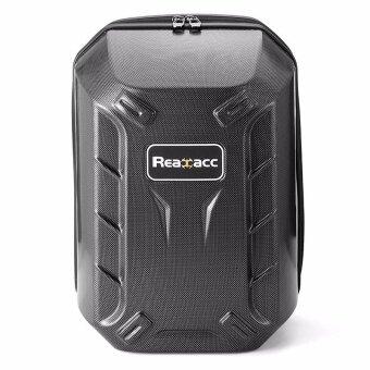 Realacc Hard Shell Backpack Case Bag Carbon Fiber For DJI Phantom 4 - intl