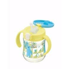 ทบทวน ที่สุด Richell แก้วหลอดดูดกันสำลักสำหรับเด็ก แก้วกันสำลักสำหรับเด็ก ถ้วยหลอดดูดกันสำลักรุ่นใหม่ลายหมี