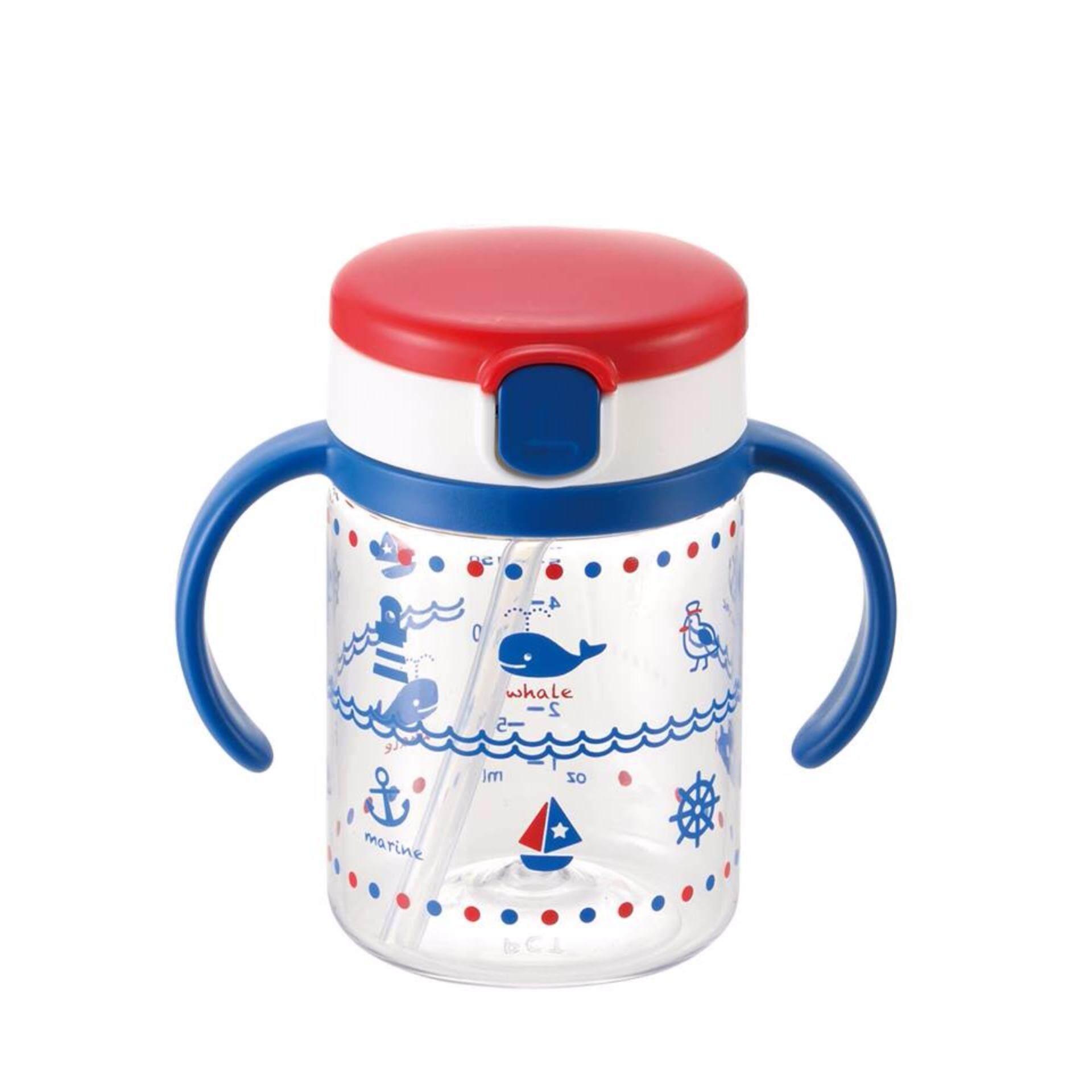 Richell แก้วหลอดดูดกันสำลักสำหรับเด็ก แก้วกันสำลักสำหรับเด็ก ถ้วยหลอดดูดกันสำลัก แก้วน้ำเด็ก