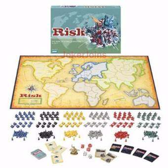 RISK Board Game The Game of Global Domination English Edition for 2~6 Players for Christmas New Year-