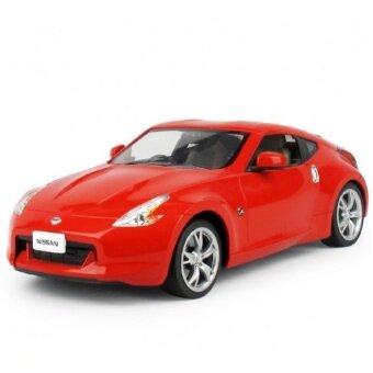รถบังคับวิทยุ รถบังคับไฟฟ้า รถ Model บังคับวิทยุ NISSAN 370Z (สีแดง)