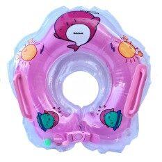 ซื้อ Ruklook ห่วงยางสวมคอเด็กทารก งานหนา สีชมพู ใหม่