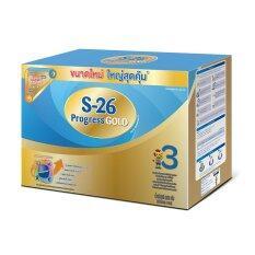 ขาย S 26 Progress Gold นมผง เอส 26 โปรเกรส โกลด์ สูตร 3 ขนาด 3000 กรัม แพ็ค 2 ใน Thailand