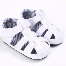 ขาว ๆ ลื่นพื้นรองเท้าทารกแรกเกิดร้อนจริง ๆ เด็กหนุ่มบนหนังรองเท้าผ้าฝ้ายพู่ S1171 ในประเทศ Intl เป็นต้นฉบับ