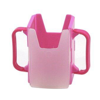 SabuyOnlineที่ใส่กล่องนมกันบีบ - สีชมพู