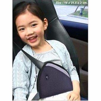 ที่ปรับระดับเข็มขัดนิรภัย สำหรับเด็ก รุ่น : Safety Belt Adjust สีดำ (เข็มขัดนิรภัยรถยนต์สำหรับเด็ก)