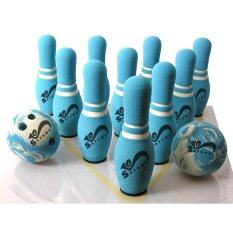 ซื้อ Safsof ชุดโบว์ลิ่งในกระเป๋าสะพาย รุ่น Jbb 07 1 B สีฟ้า ใหม่