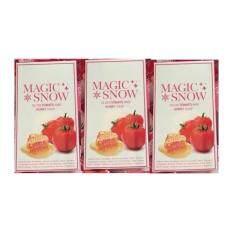 สบู่เร่งขาว++magic Snow Gluta Tomato And Honey Soap ชุด 3 ก้อน By Beeshop.