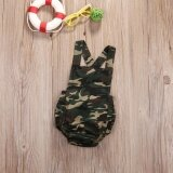 ความคิดเห็น Sdp Camouflage Newborn Baby Romper Clothes 2017 New Summer Sleeveless Infant Bebes Boys Girls Fashion Toddler Kids Jumpsuit Sunsuit Intl