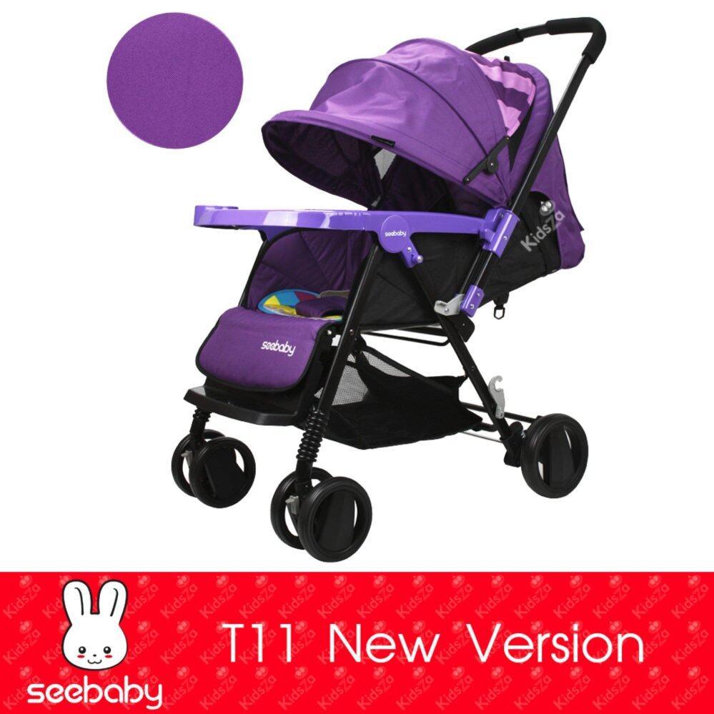 รีวิว Pantip Unbranded/Generic รถเข็นเด็กแบบนอน รถเข็นเด็ก หิ้วได้ Baby Stroller Easy to Carry เปรียบเทียบราคาที่ดีที่สุด