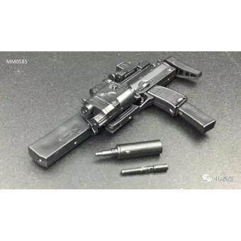 ชุดโมเดลปืนประกอบทหารซีรี่ย์4 2in1 โมเดลปืน MP7 + และซีรี่ย์123 จำนวน 1ชิ้น คละแบบในกล่อง