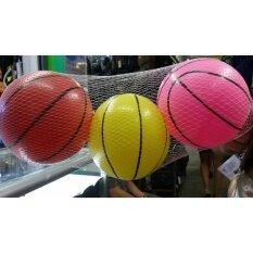 Share บอลยาง บอลนิ่ม 3 ลูก บรรจุถุงตาข่าย By Share Store.