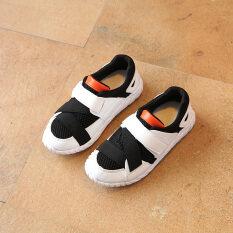 ราคา รองเท้าวิ่งป่าแฟชั่นรองเท้ากีฬาเด็กตาข่ายระบายอากาศ เป็นต้นฉบับ