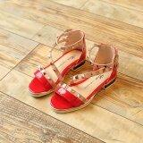 แฟชั่นสาว Rivets รองเท้าน่ารักเจ้าหญิงเด็กรองเท้าแตะ ใหม่ล่าสุด