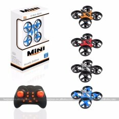sjy-Rh807 mini drone rc quadcopter  with led lights  red.