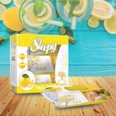 ขาย ซื้อ Sleepy Lemon ทิชชูเปียกอเนกประสงค์กลิ่นเลมอน ขนาด 50 แผ่น 3 ห่อ