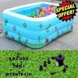 ซื้อ Smart Android Box Inflatable Pool For Kid สระว่ายน้ำสำหรัSmart Android Box Inflatable Pool For Kid สระว่ายน้ำสำหรับเด็ก สระน้ำเป่าลม ขนาด 150X105X55 Cm แถมฟรี ปั๊มลมไฟฟ้า ชุดปะรอยรั่ว Smart Android Tv Box เป็นต้นฉบับ