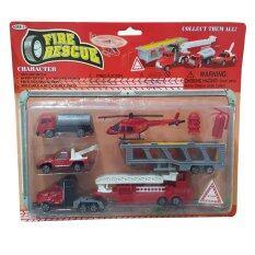 Snook Toys - ขบวนรถดับเพลิงเด็กเล่น.