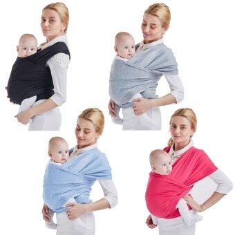 ผ้าฝ้ายนุ่มปรับ Baby SLING Wrap ฝาครอบสำหรับทารกแรกเกิดถึง 20kg