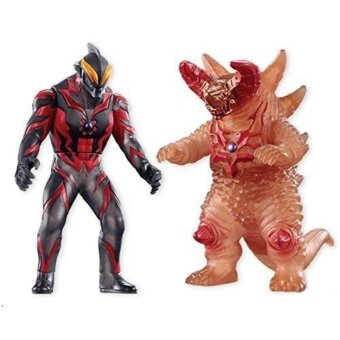 ซอฟไวนิลอุลตร้าแมนSoft Vinyl Hero VS UltramanUltraman Orb Gekitou Hen-02 Soft Vinyl Hero VS Ultraman Confrontation set Ultraman Orb Gekitou Hen 12 pi...