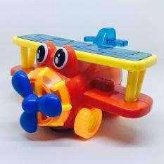 Somjai Kidstoy ของเล่น เครื่องบินชนถอย เสียง ไฟ