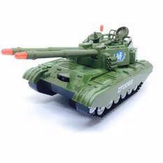 ขาย ซื้อ Somjai Kidstoy ของเล่น รถถังทหารชนถอย เสียง ไฟ ใน Thailand