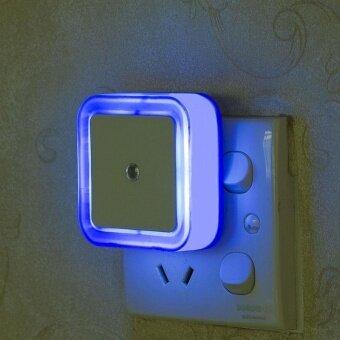สแควร์ Night Light แสงอัจฉริยะ SENSOR มินิโคมไฟ