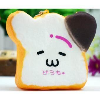Squishy สกุชชี่ขนมปังปอนด์ SuperSoft ขนาด 9x10cm