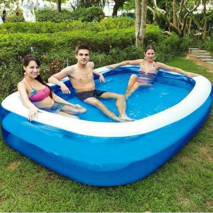 MBP สระว่ายน้ำเด็กเป่าลม ขนาด 200x150x50 ซม.