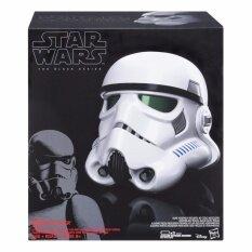 ทบทวน ที่สุด Star Wars The Black Series Imperial Stormtrooper Electronic Voice Changer Helmet